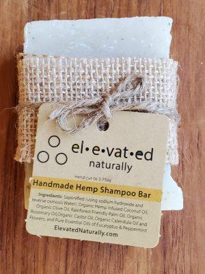 handmade hemp shampoo bar