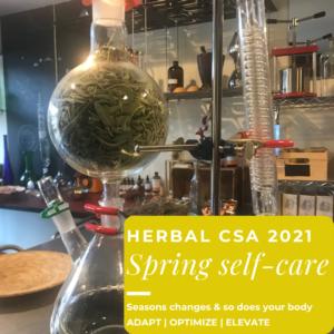 spring self care csa